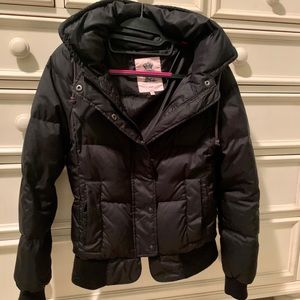 Juicy Couture Black Puffer Jacket S